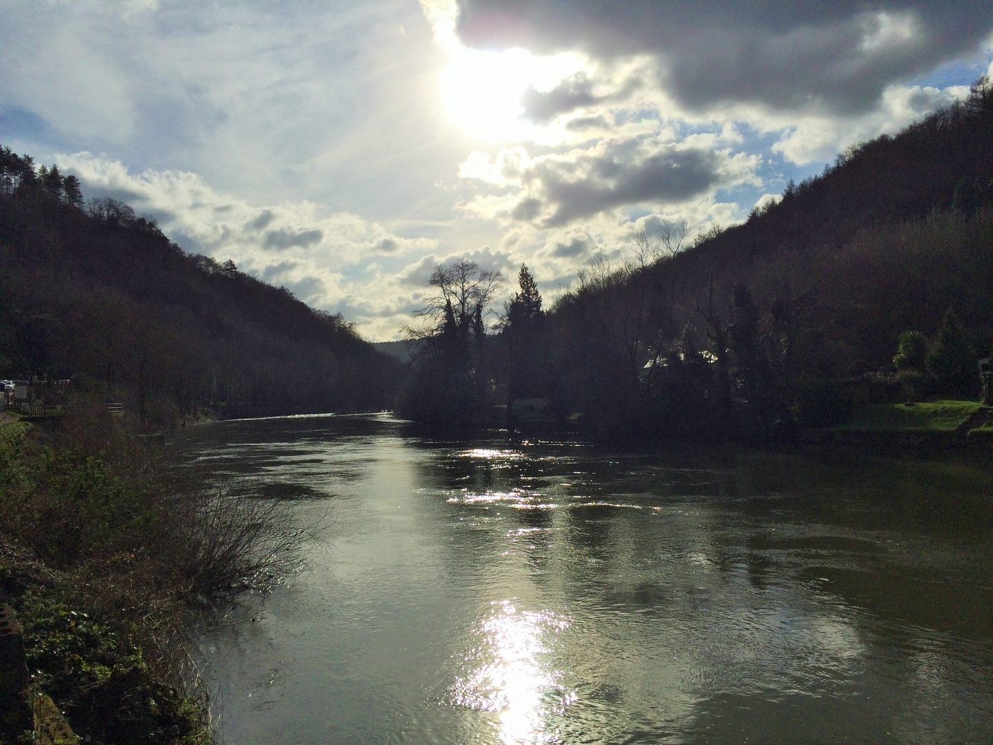 River Wye at Symonds Yat