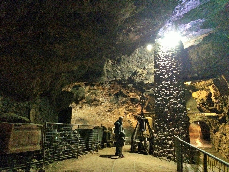 Clearwell Caves, UK family short break