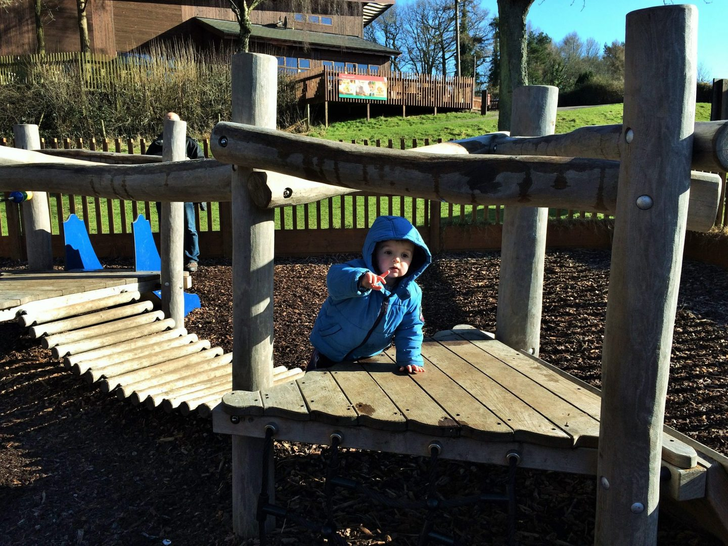 Playground at Forest Holidays
