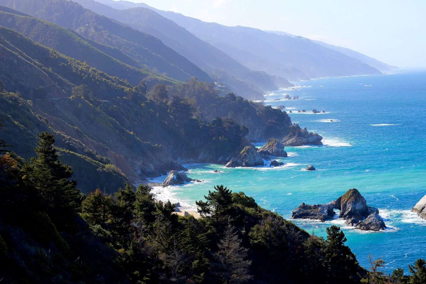 Big Sur California, family summer holiday ideas
