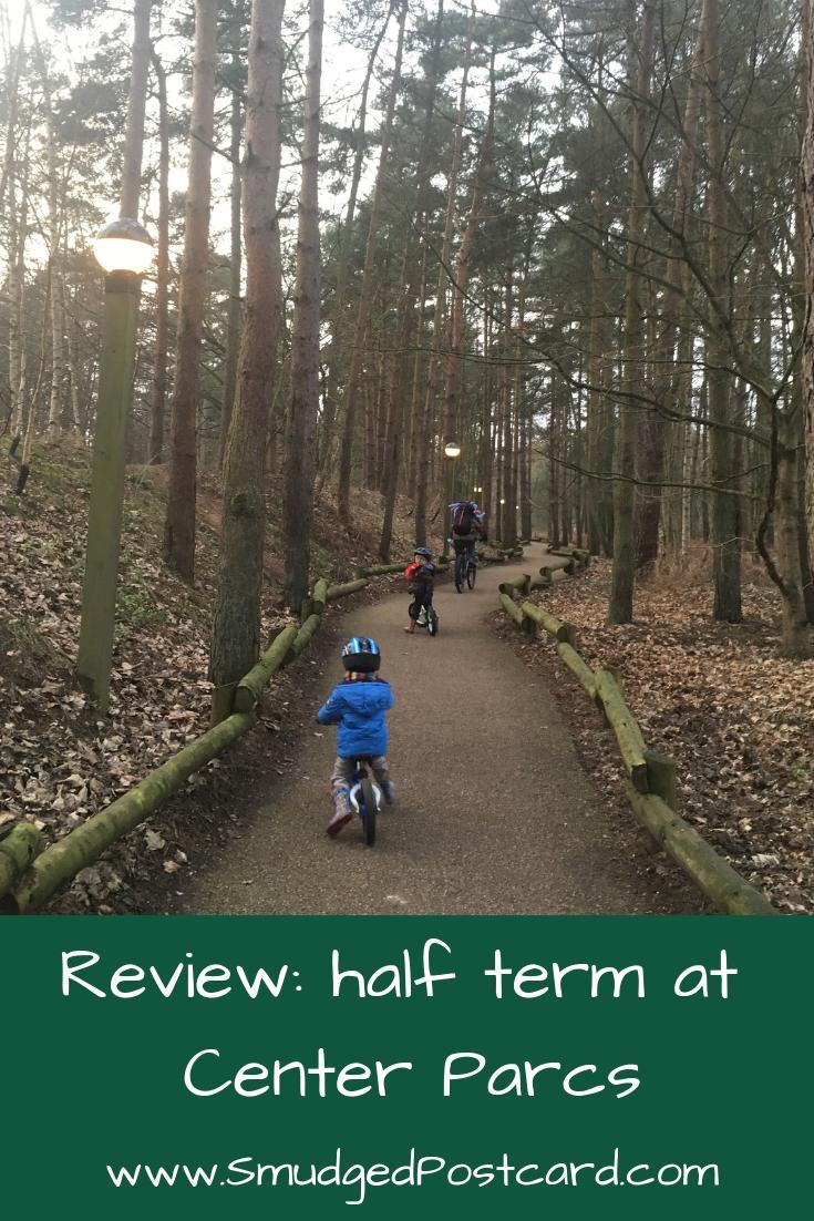 Half term at Center Parcs