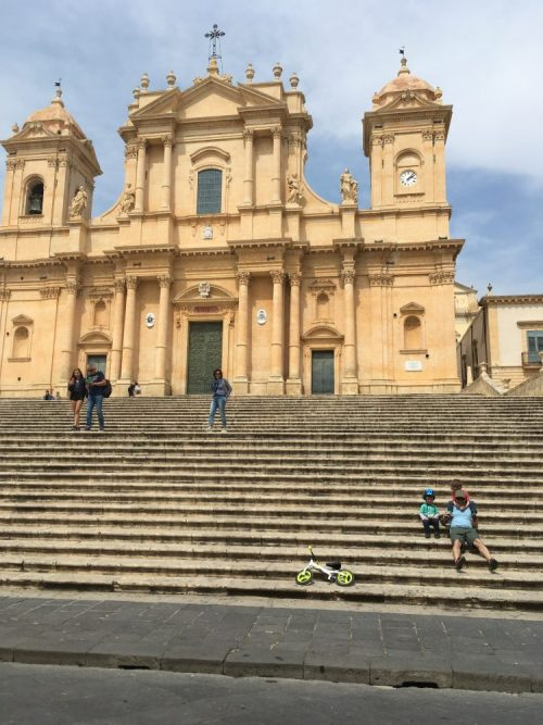 Sicily with kids, Noto Cathedral, Sicily
