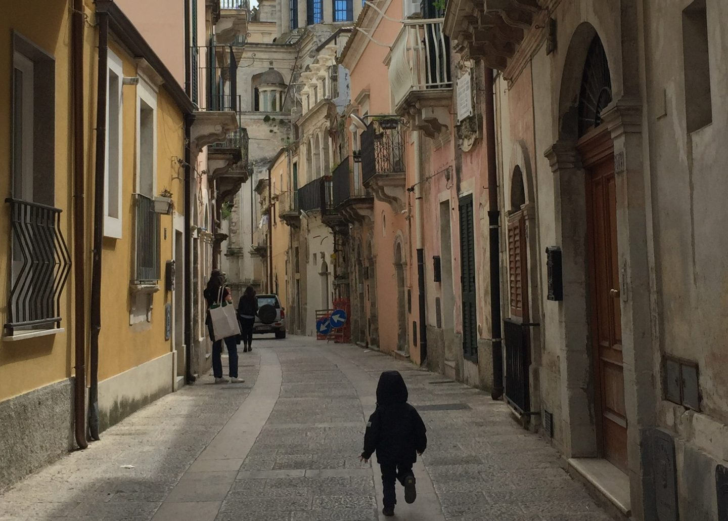 Road tripping through Sicily with kids
