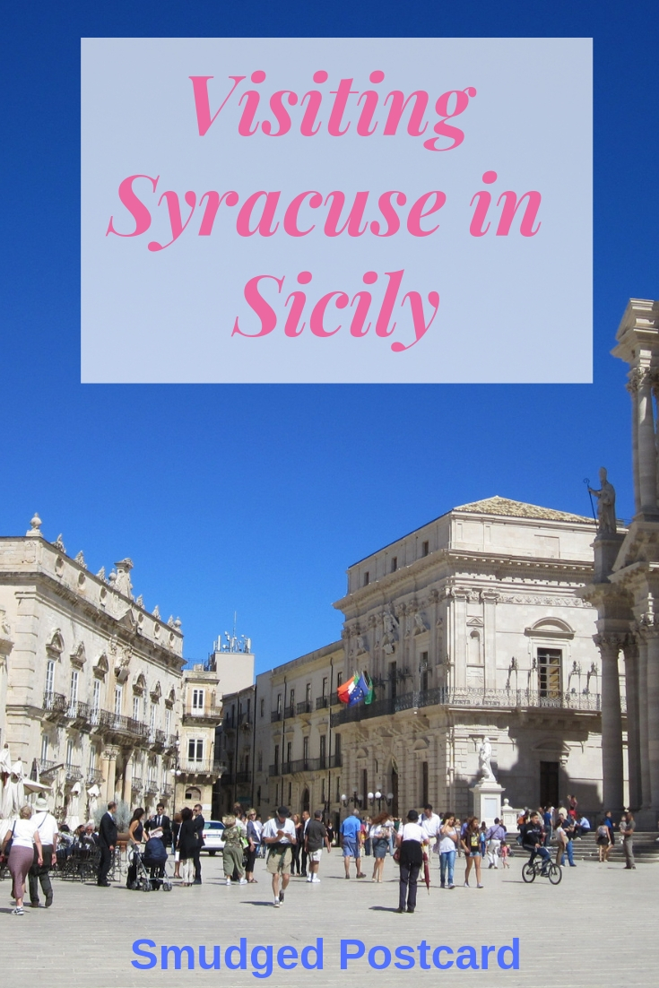 Visiting Syracuse in Sicily
