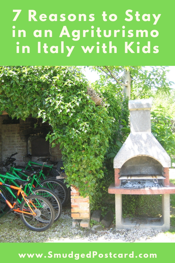 7 Reasons why you should stay in an agriturismo in Italy with kids