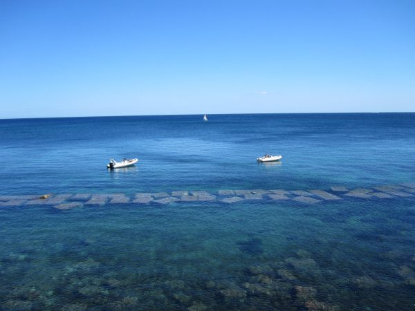 Syracuse, coastline of ortigia, sicily, italy