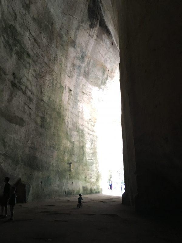 Syracuse, Orecchio di Dionisio, Parco Archeologico della Neapolis, siracusa, sicilia, italia