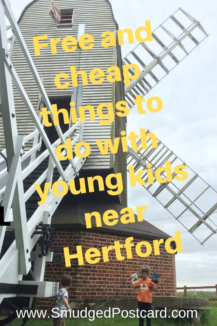 Free and cheap things to do with young kids near Hertford