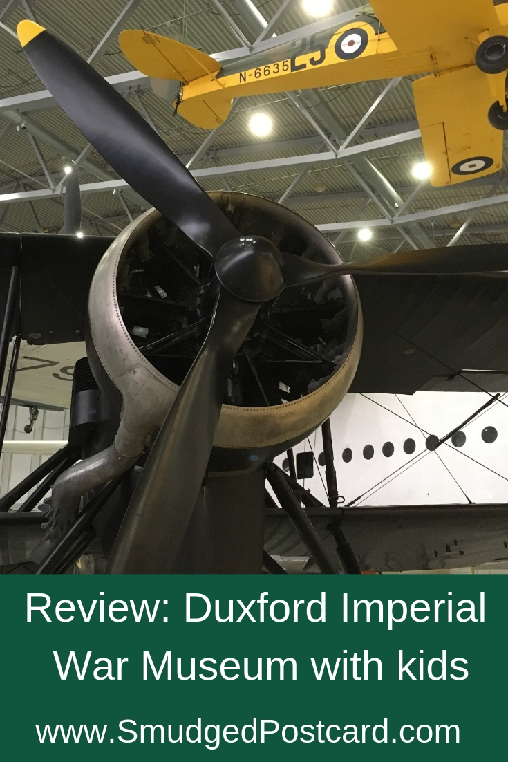 Review: Duxford Imperial War Museum with kids