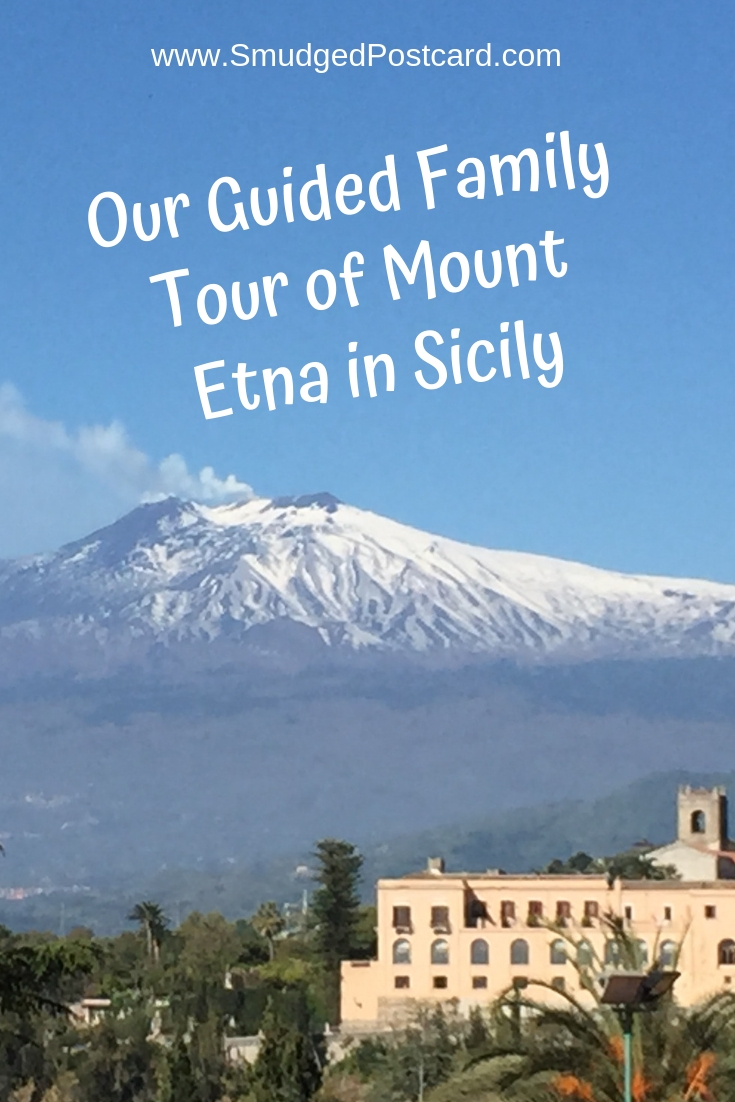 Our Private Guided Family Tour of Mount Etna in Sicily