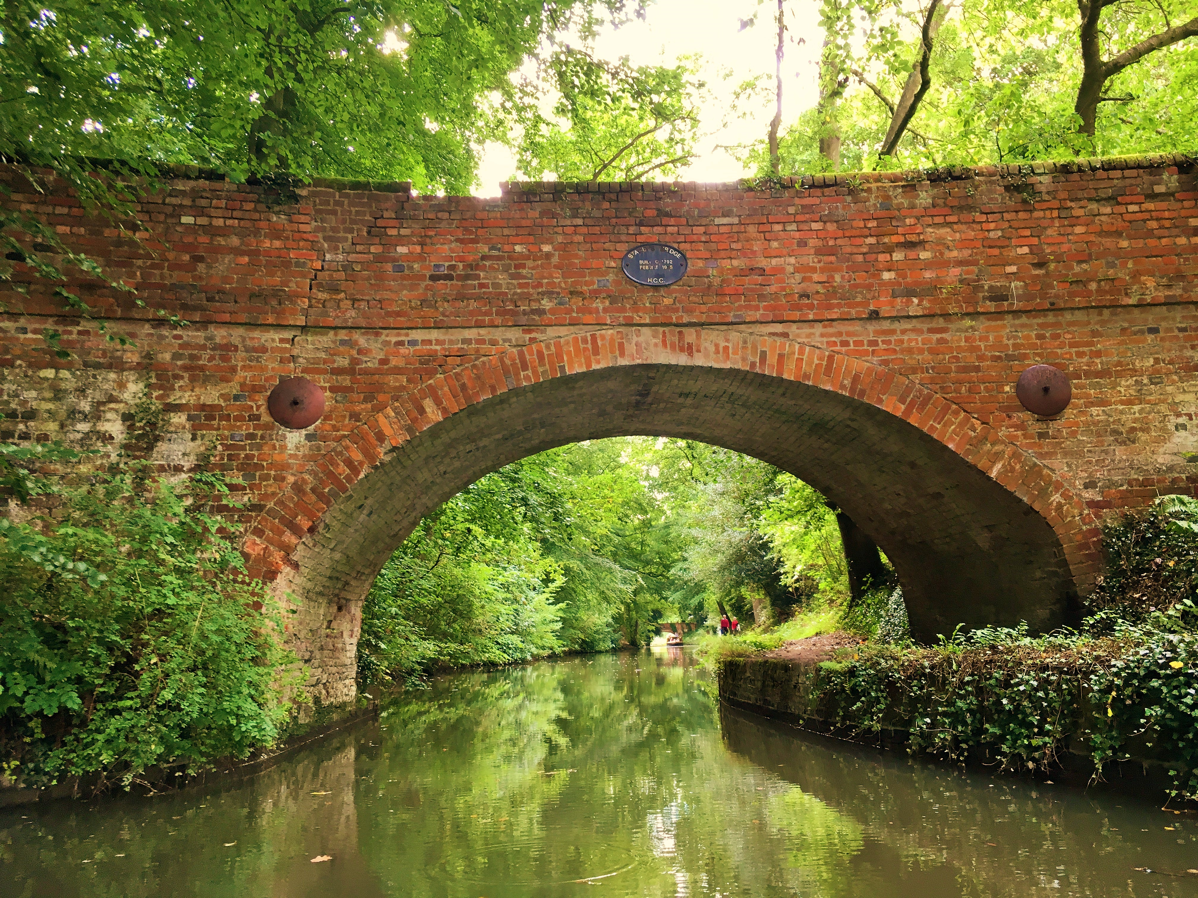 Stacey's Bridge, built c1792, Basingstoke Canal