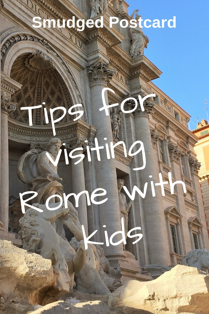 Tips for visiting Rome in the summer with kids