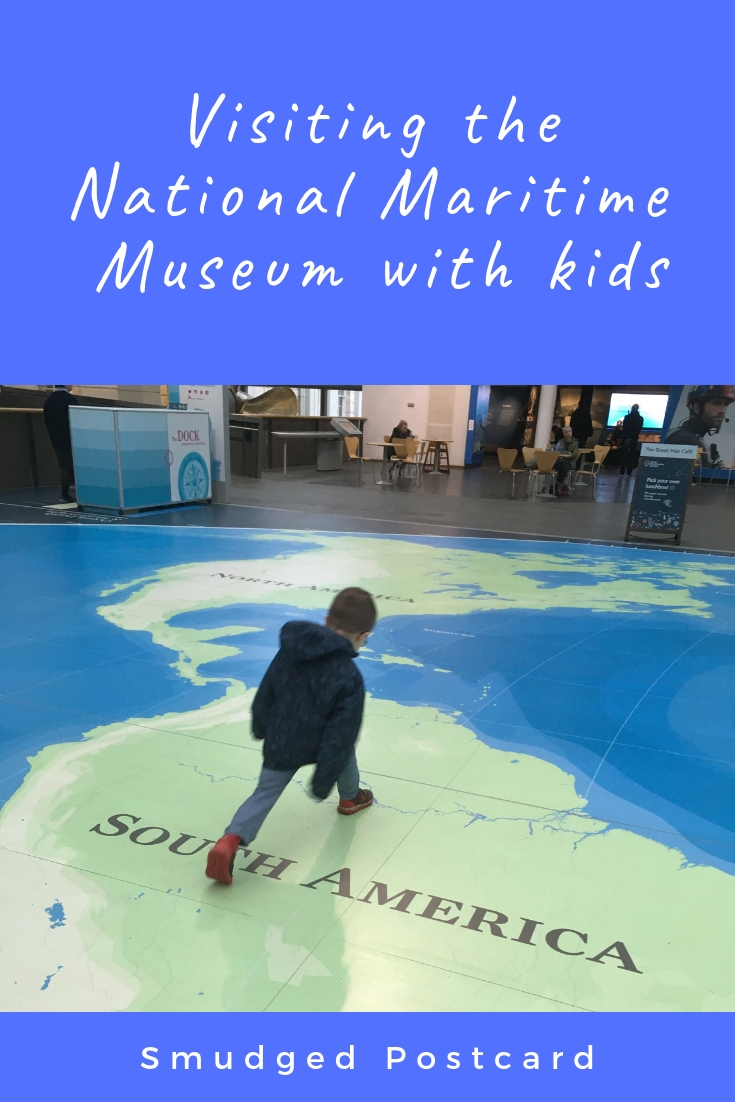 Visiting the National Maritime Museum in London with kids