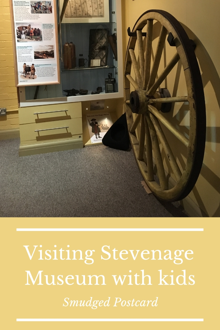 Visiting Stevenage museum with kids