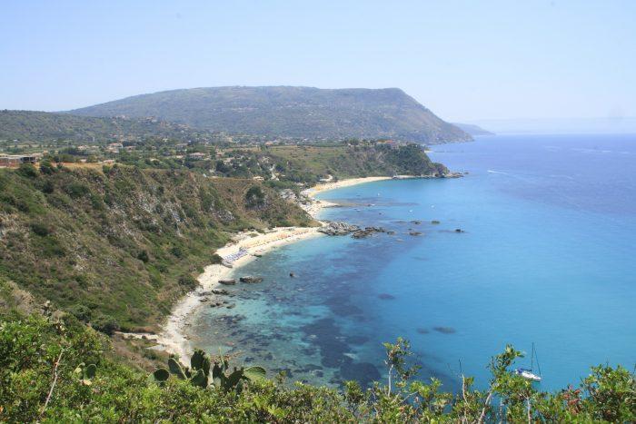 Capo Vaticano Calabria family summer beach holiday