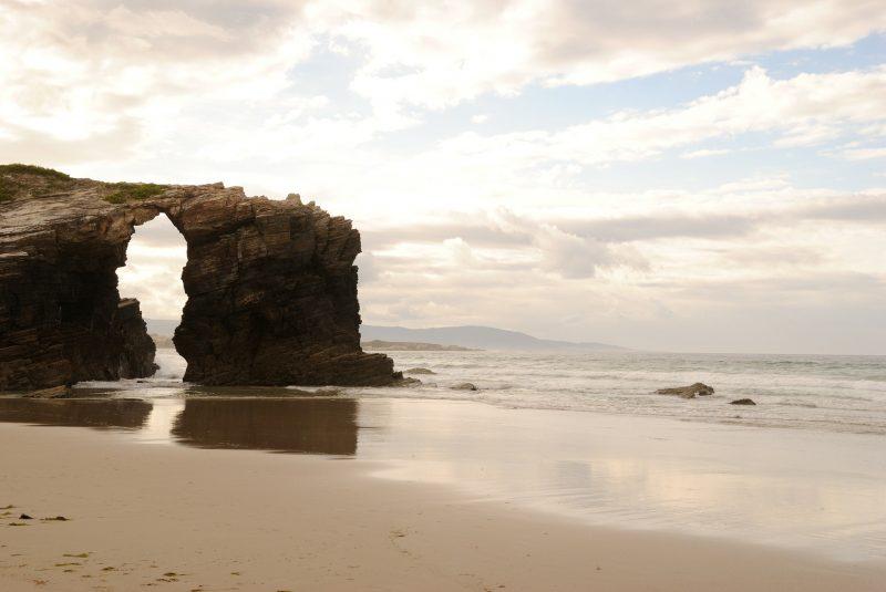 Cathdral beach, Galicia