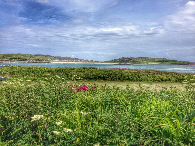 Isles of Scilly landscape family summer beach holiday