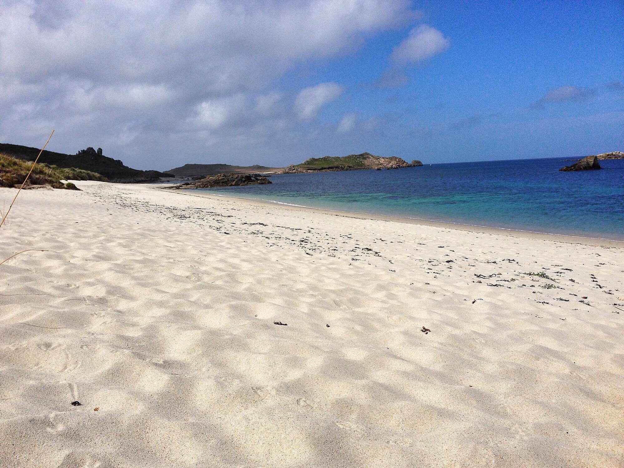 Scilly beach