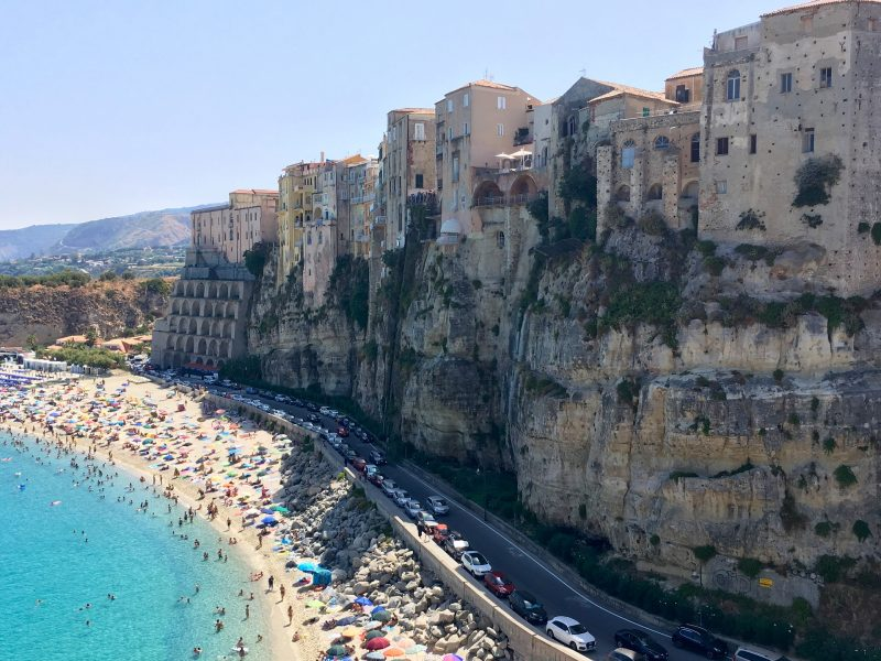 Tropea family summer beach holiday, off the beaten track holidays, ideas for family summer holidays