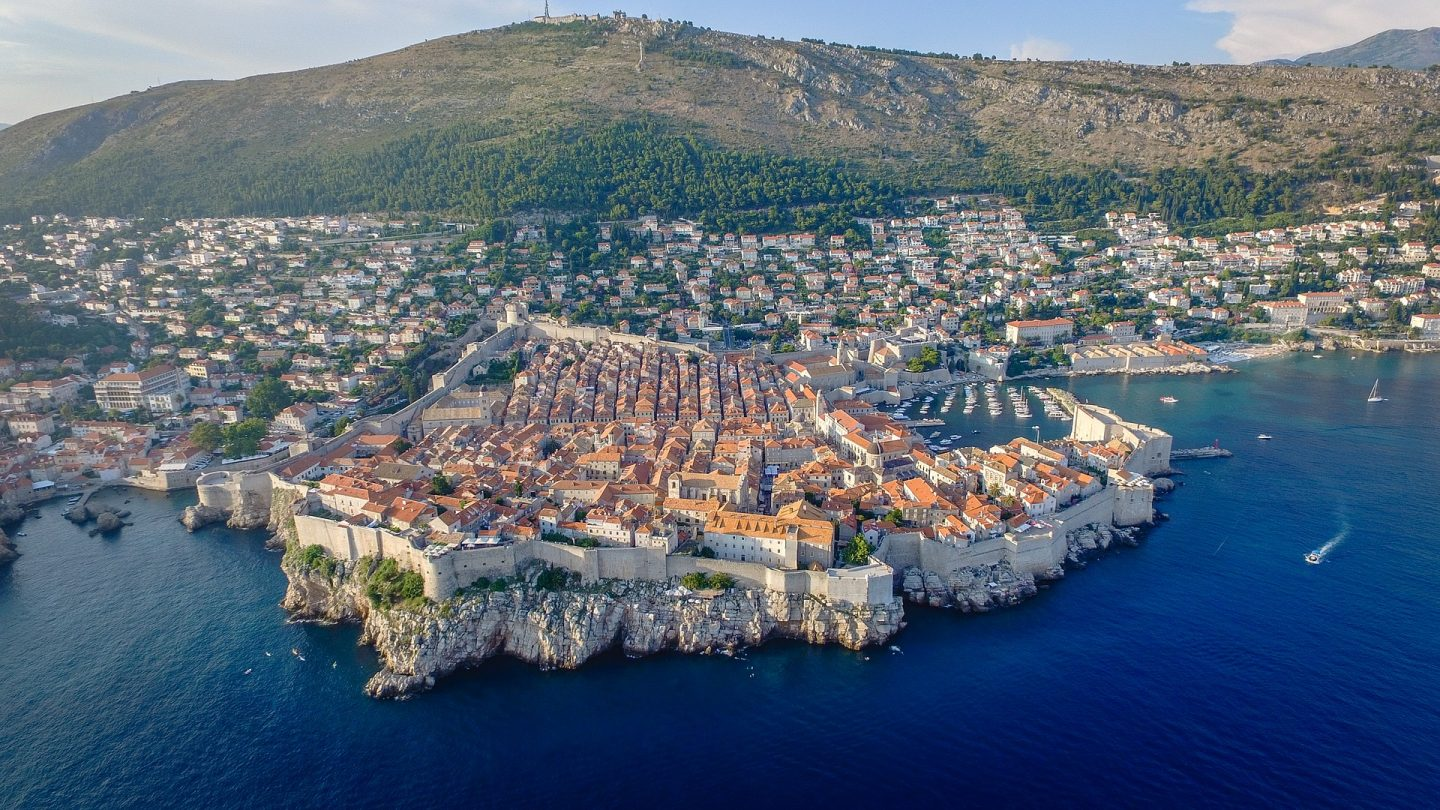 view of Dubrovnik family city break