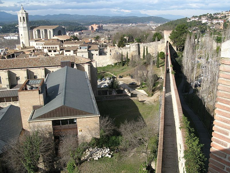 Views from Girona city walls copyright Zorro2212