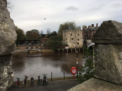 River Ouse from york city walls
