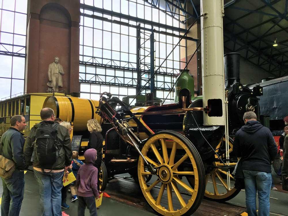 Model of Stephenson's Rocket, National Railway Museum
