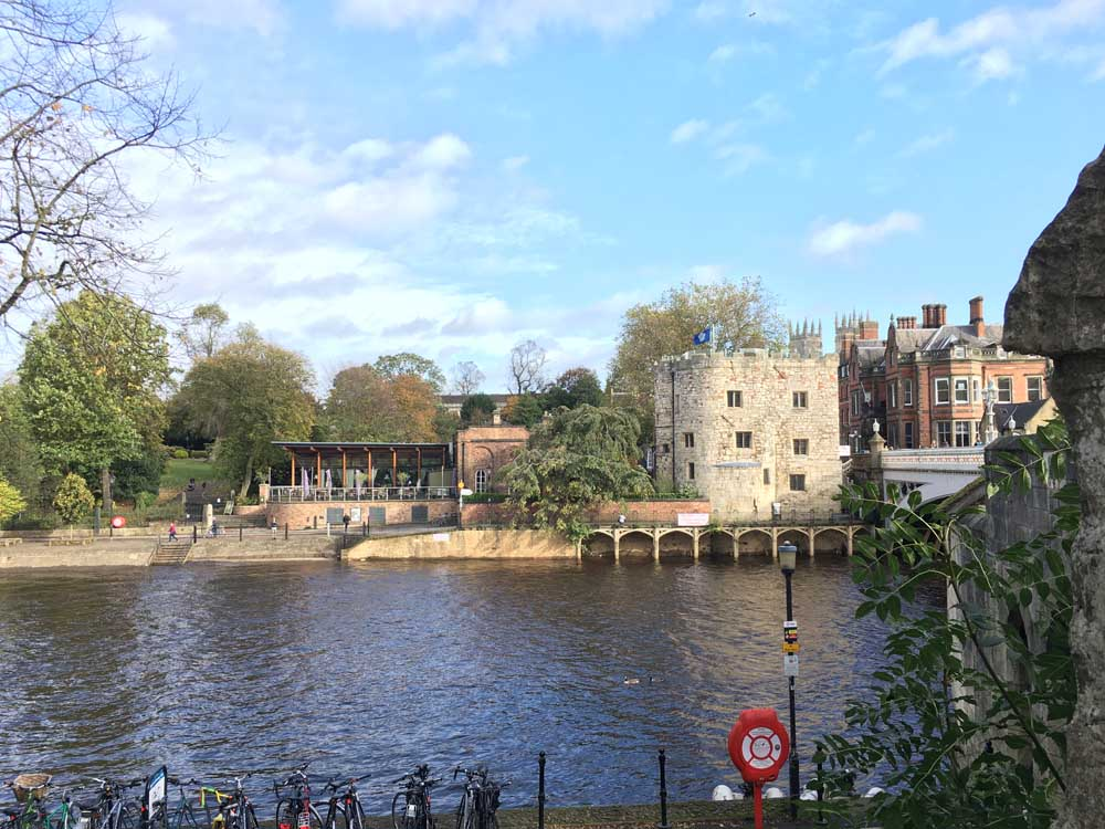 Things to do in York with kids: take a boat on the River Ouse, York