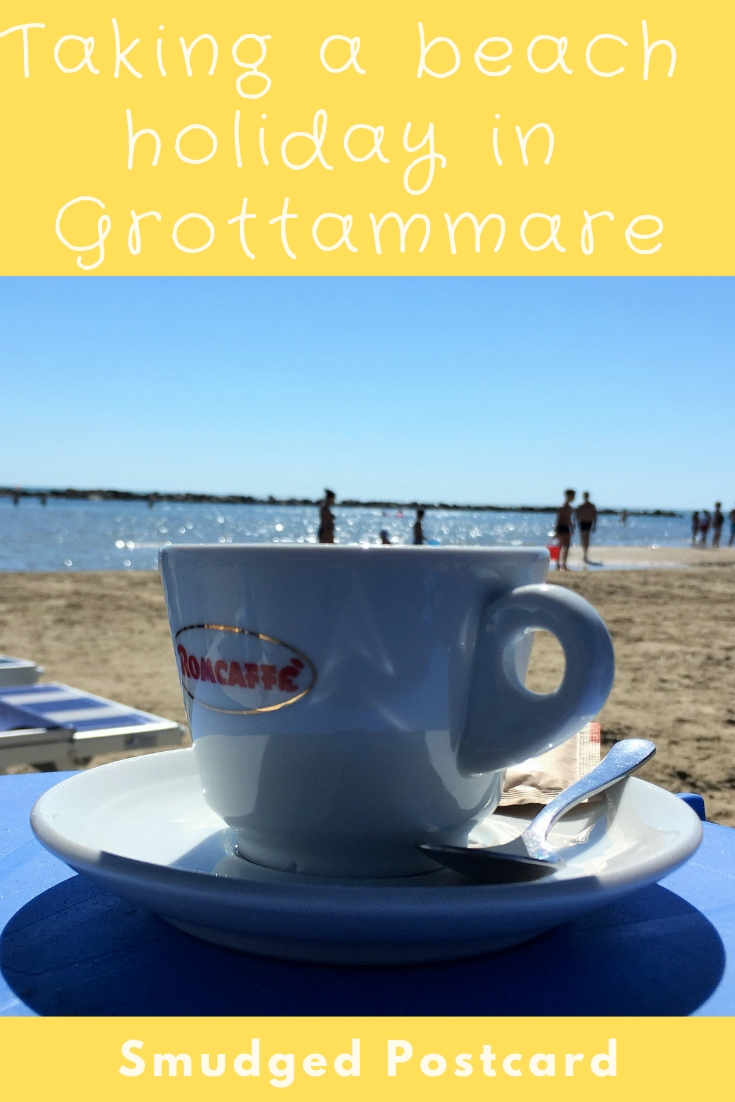 Holidaying in Grottammare, Le Marche Italy