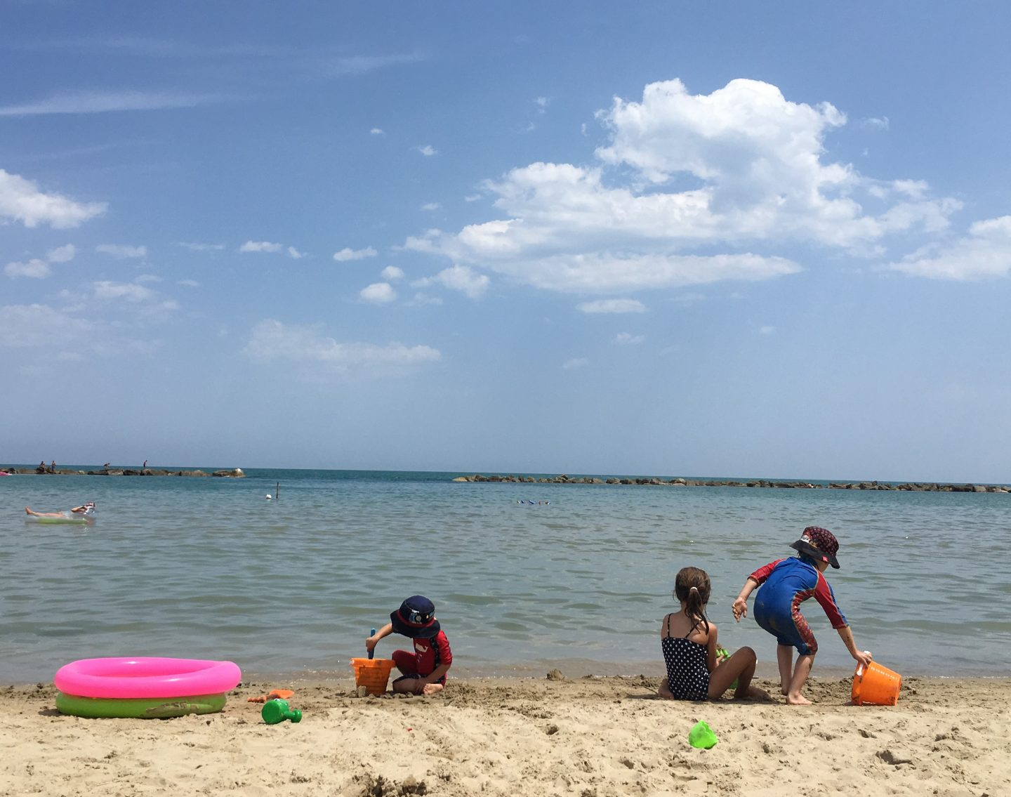An Italian beach holiday in Grottammare