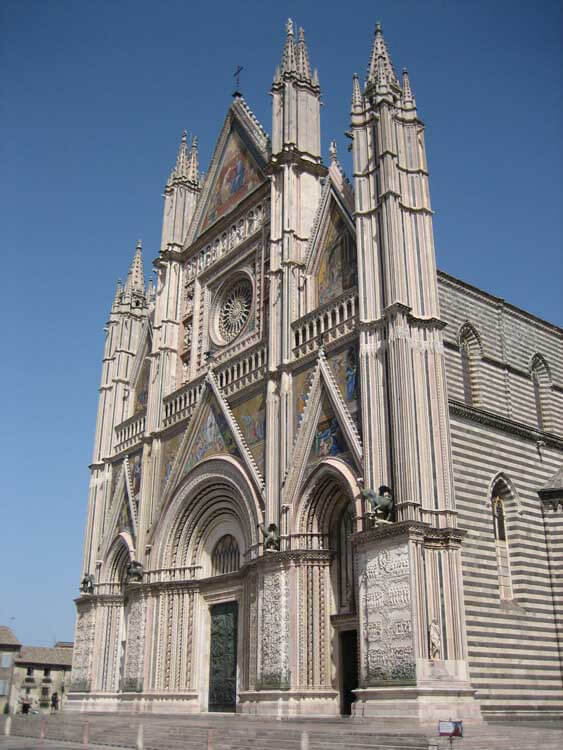 Umbria with kids Orvieto cathedral, umbria family holidays, perugia with kids, things to do in perugia