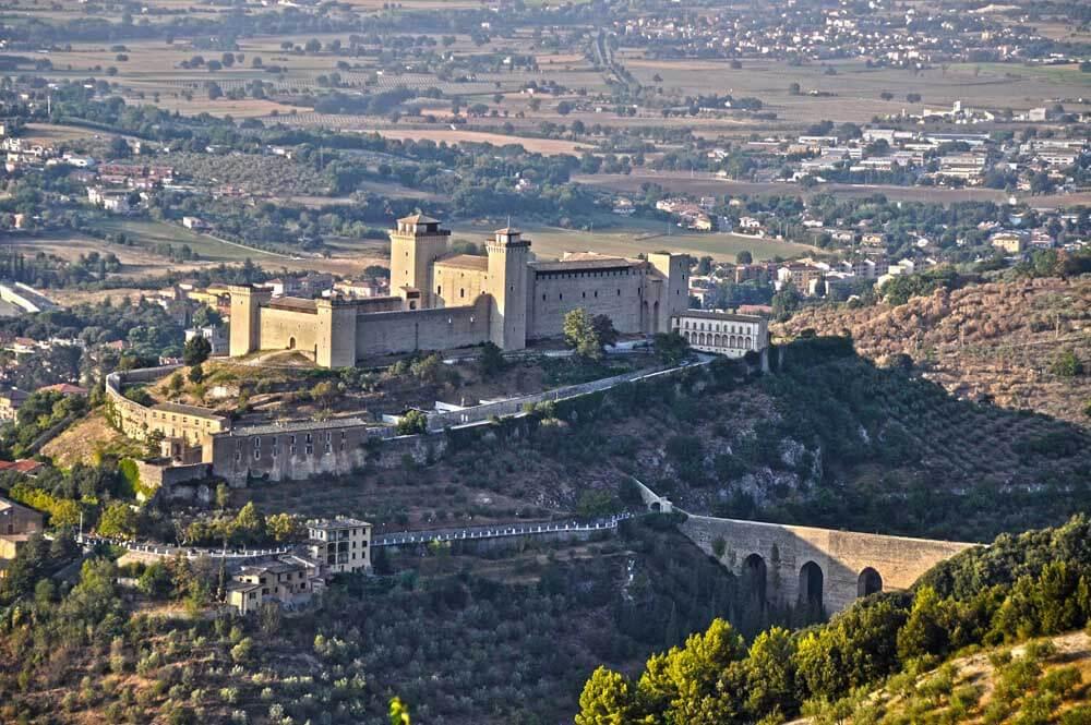 Spoleto in Umbria Italy