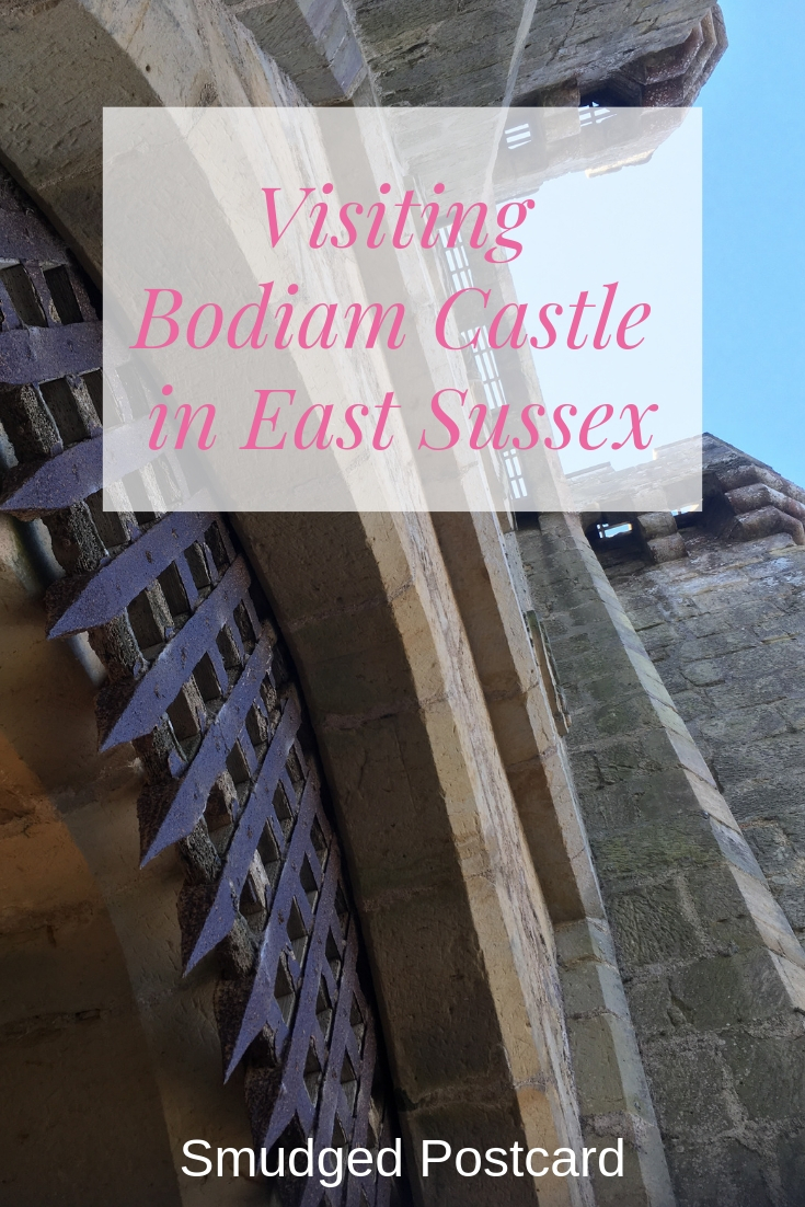 National Trust Bodiam Castle with kids