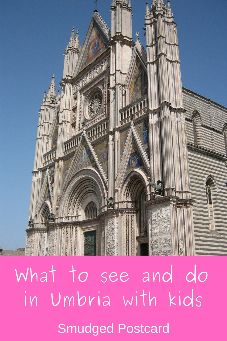 Things to see and do in Umbria Italy with kids