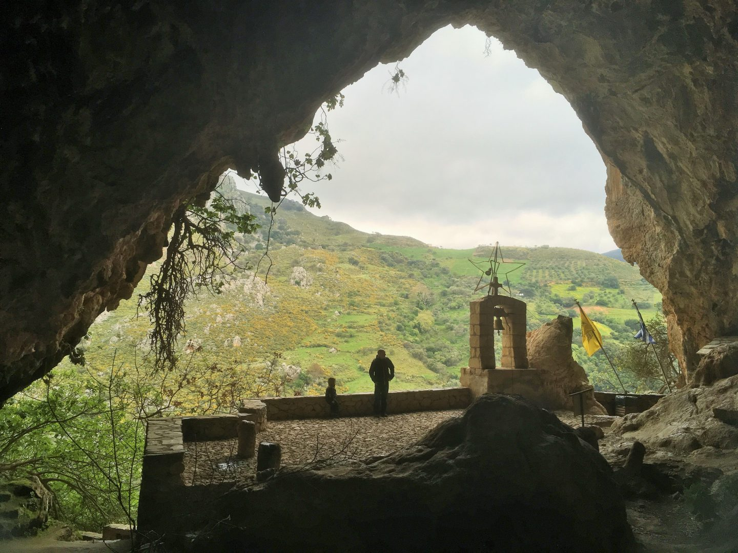 Agia Sofia cave,  crete with kids