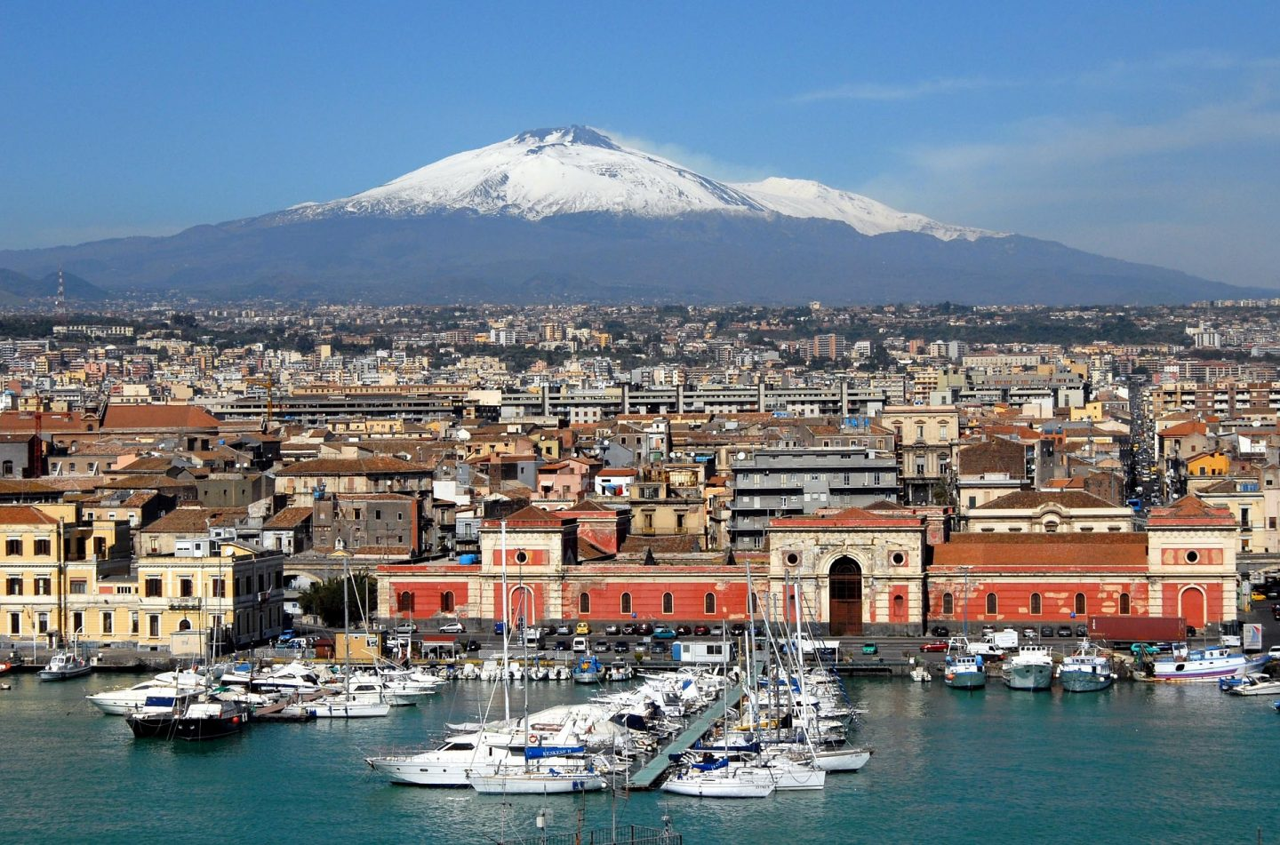 Catania beaches in Sicily
