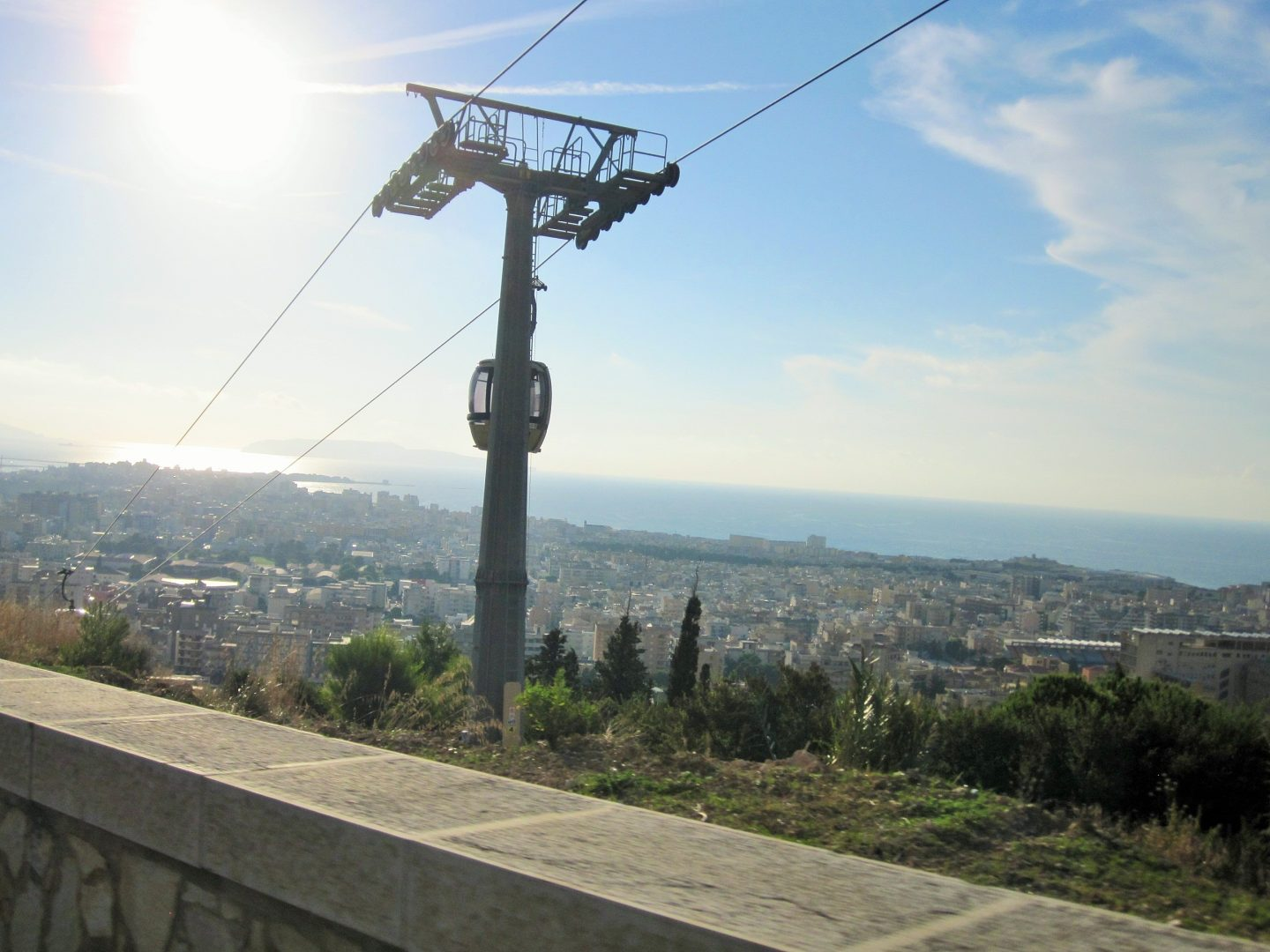 Erice cable car, beaches in Sicily