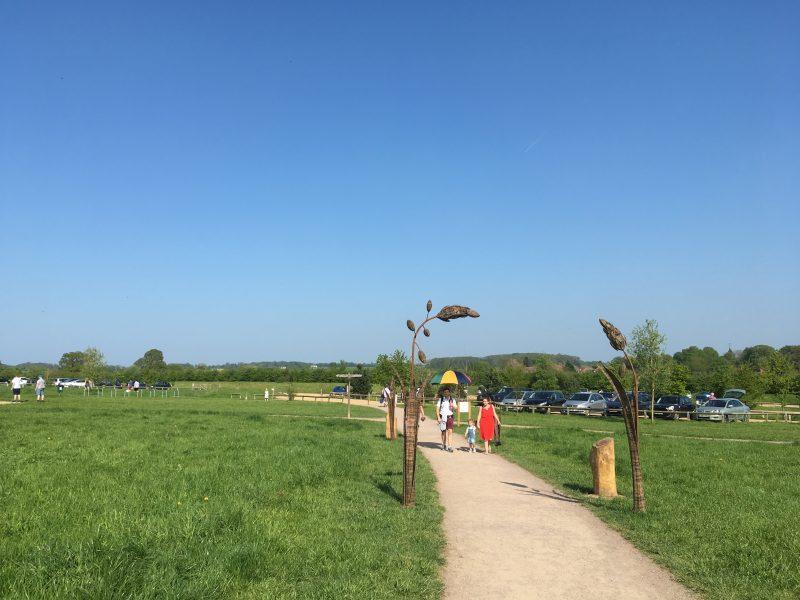 Heartwood car park path