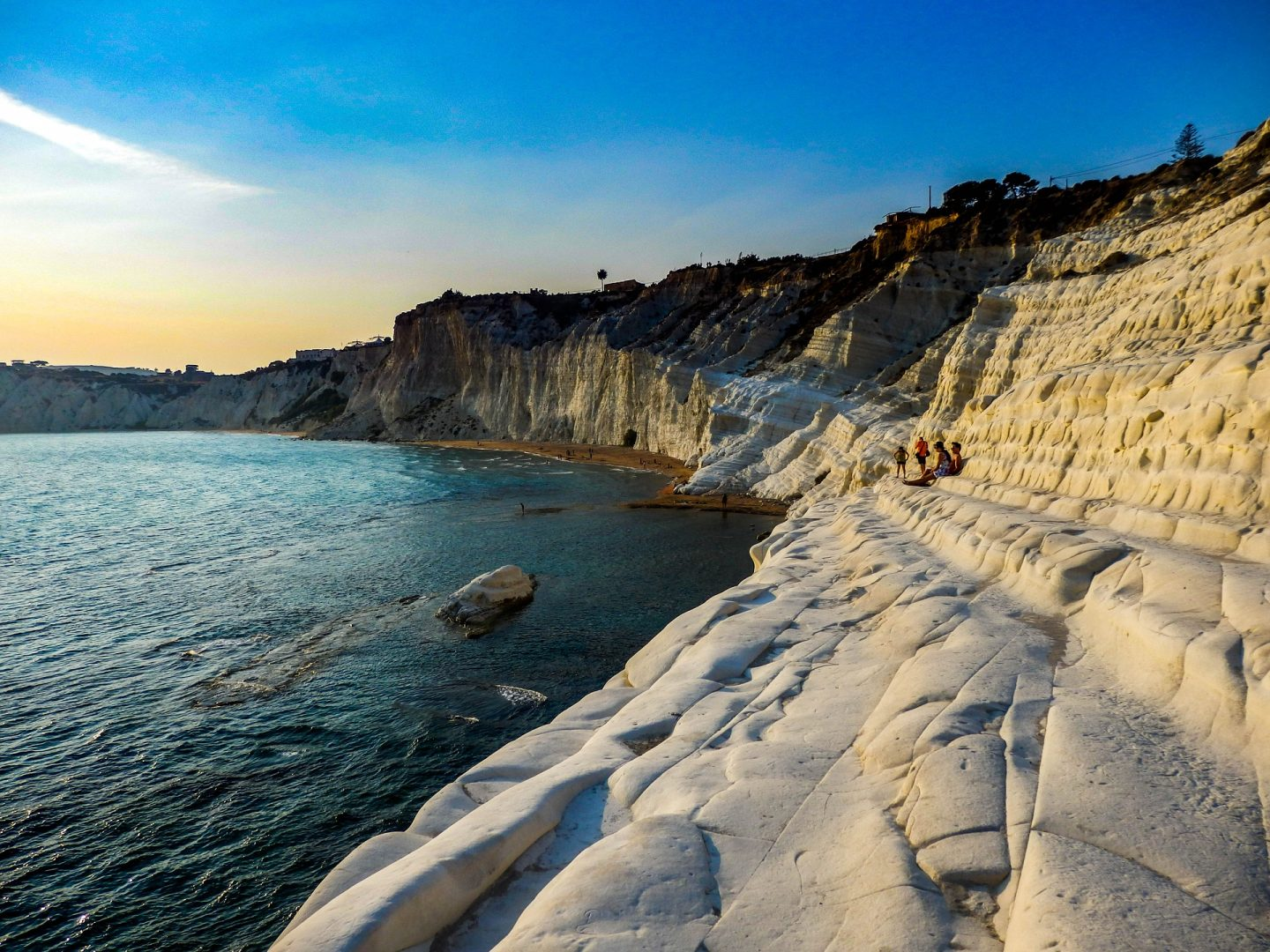Scala dei Turchi beaches of Sicily