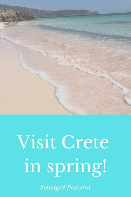 visit crete in spring