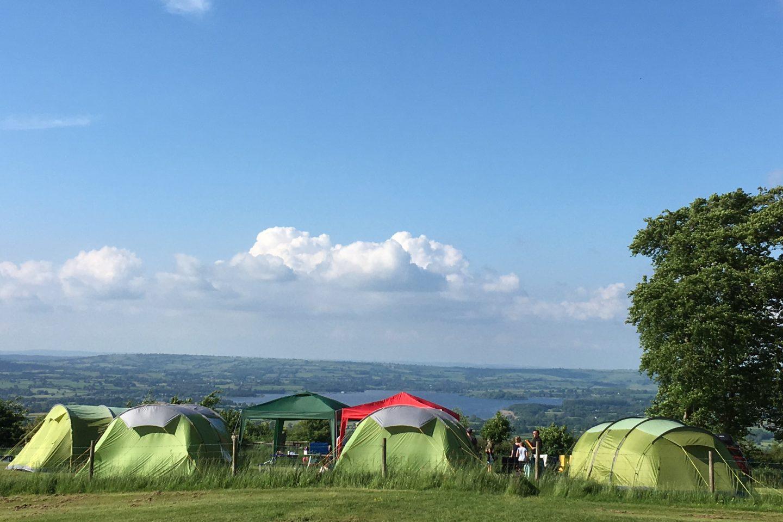 Nettwood Farm campsite Somerset