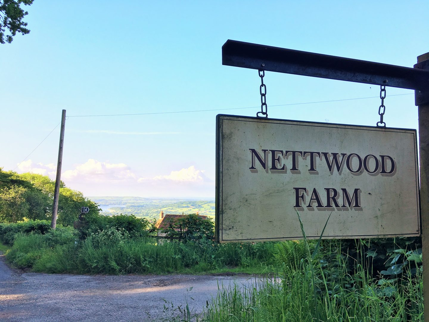 Nettwood Farm sign