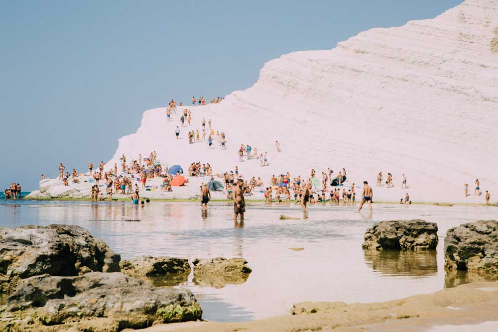white cliffs sandy beach scala dei turchi best beaches in sicily