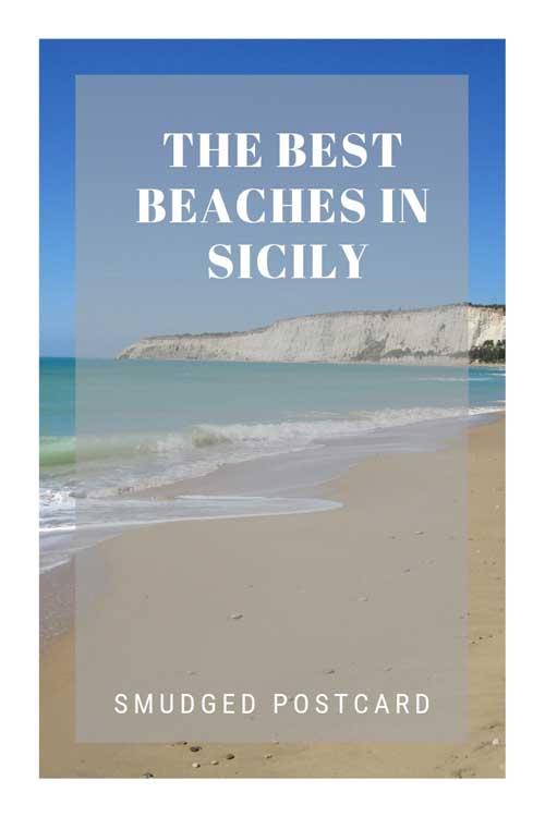 sandy beach sicily