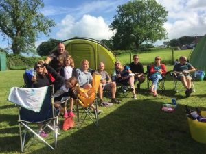 Camping can be fun in the UK: Nettwood campsite