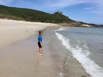 Great Bay, St Martin's isles of scilly with kids