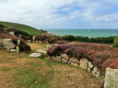 Iron Age settlement at Halangy Down, St Mary's Isles of Scilly