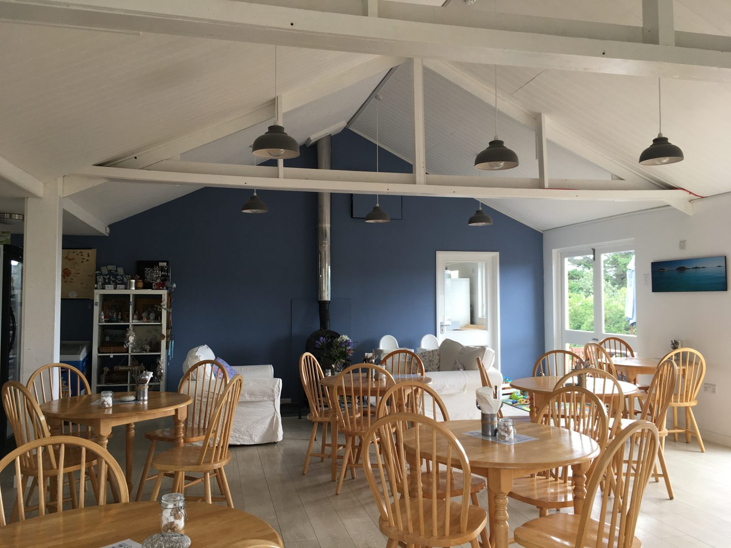 Longstone Lodge cafe isles of scilly