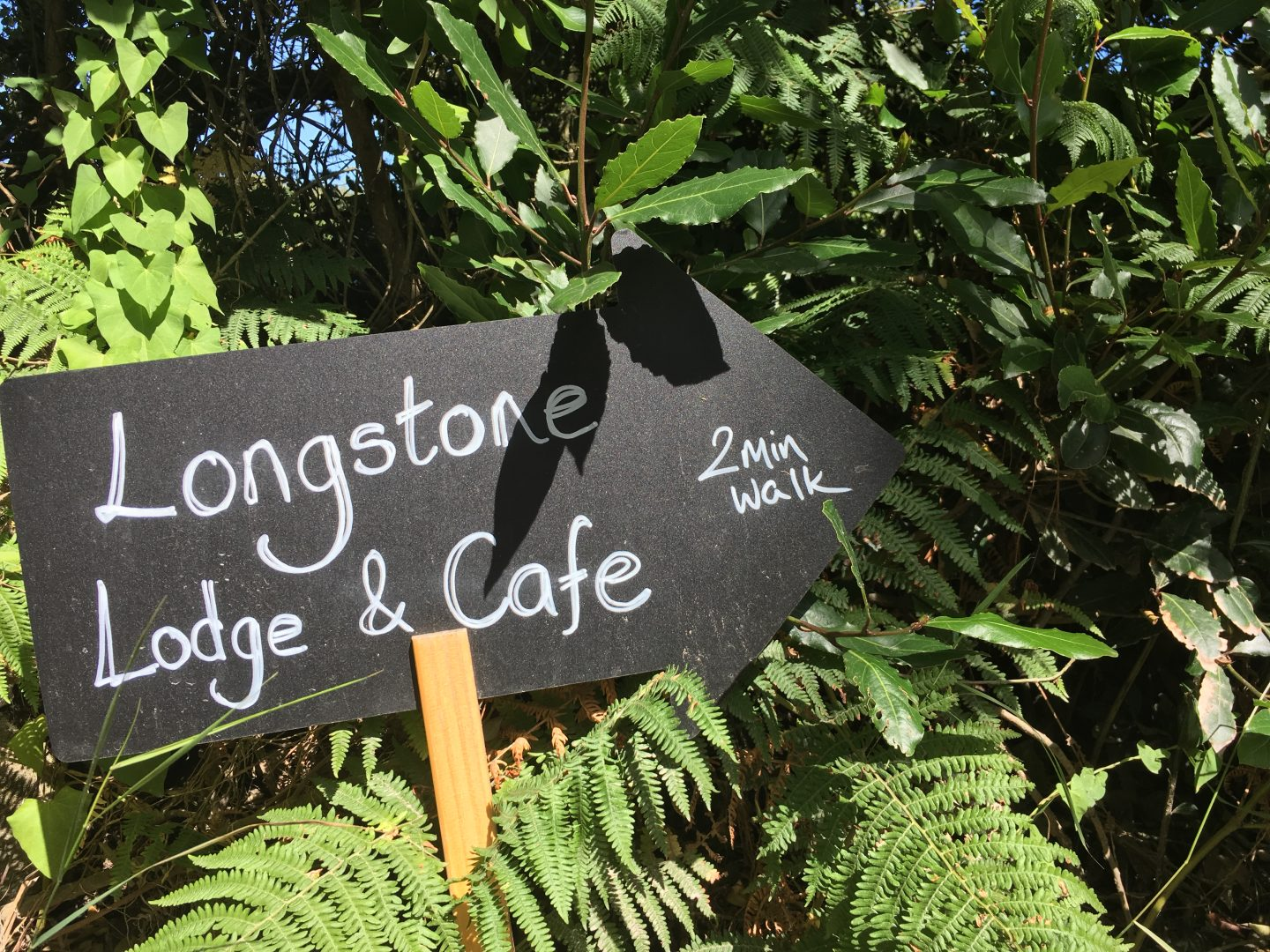 Longstone Lodge sign
