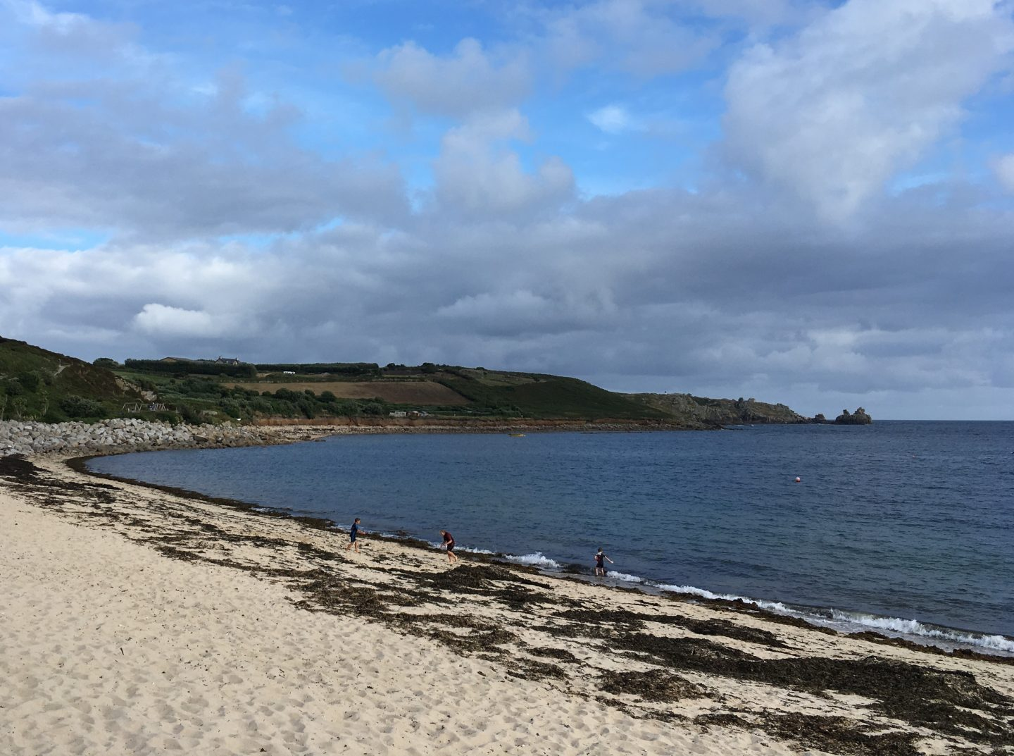 Porthcressa beach isles of scilly